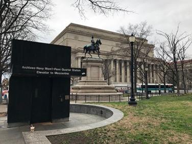 Navy Memorial in Washington, D.C.