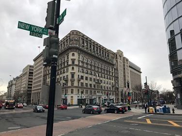 New York Avenue Washington D.C.