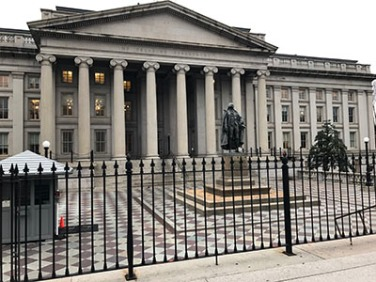 Treasury Department Washington D.C.