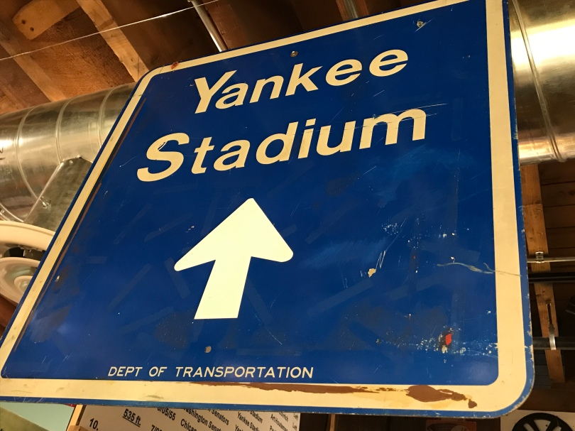Yankee Stadium sign, Department of Transportation