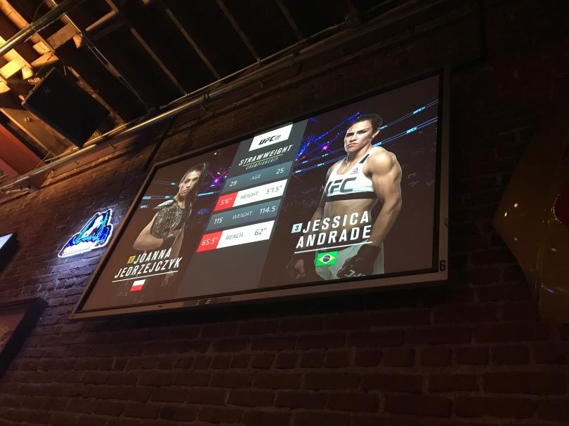UFC fight Jessica Andrade versus Joanna Jedrzejczyk