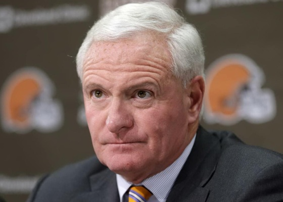 Jimmy Haslam, owner of the Cleveland Browns.
