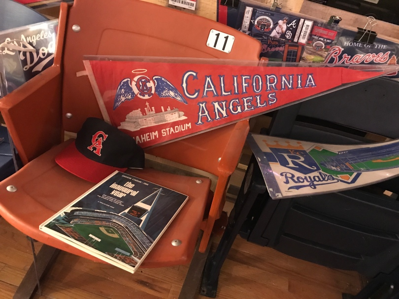 California Angels, the inaugural year