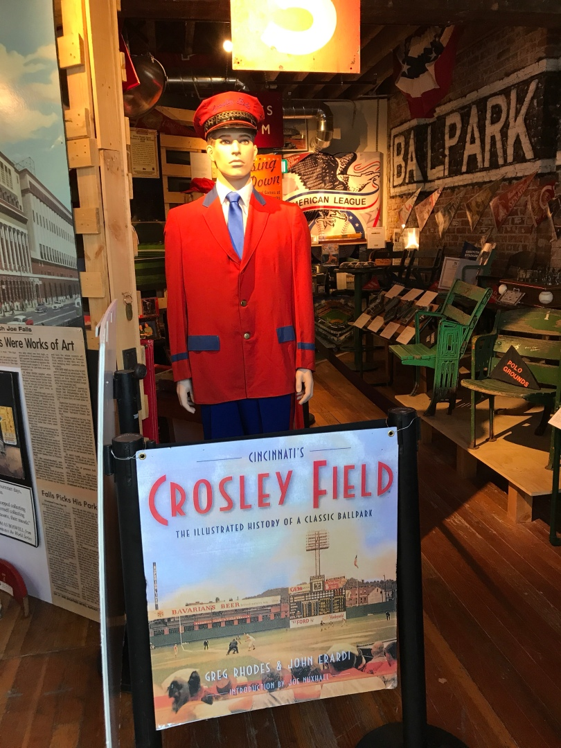 Crosley Field in Cincinnati, memorabilia